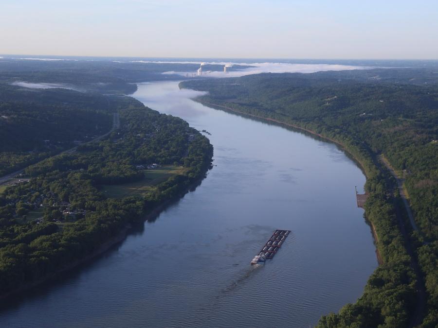 Ohio River, Inbound Port, port management, sennebogen